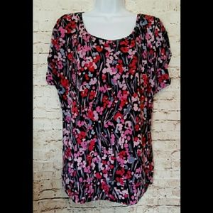 Oh Baby by Motherhood Floral Top Size L